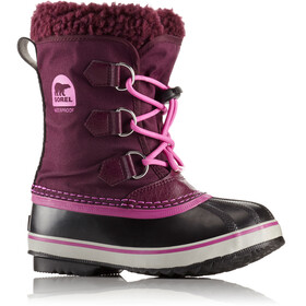 """Sorel Youth Yoot Pac Nylon Boots Purple Dahlia/Foxglove"""